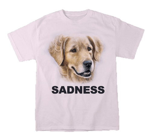 dogs,fashion,shirt,sadness