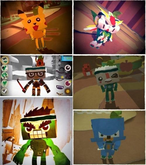 video games vita tearaway - 7936294400