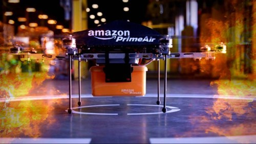 amazon drones Colorado license g rated hunt Prime Air - 7936342272
