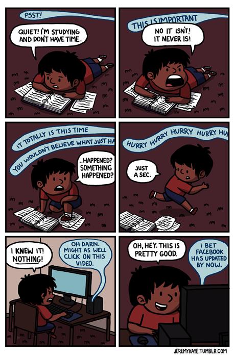computers studying web comics - 7936367616