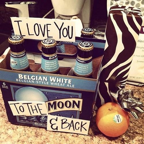 beer blue moon funny love - 7936400896