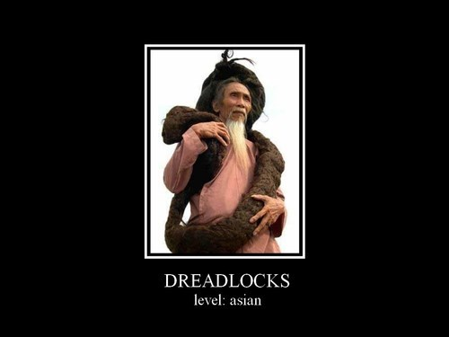 asian,dreadlocks,funny,poorly dressed,wtf