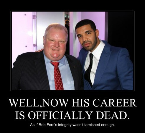 Drake funny rob ford wtf - 7936617728