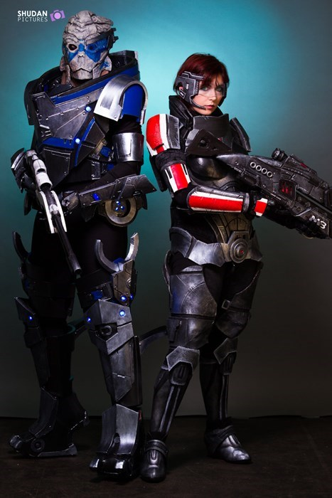 cosplay,video games,mass effect