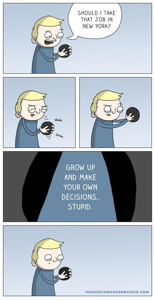 web comics,magic 8-balls