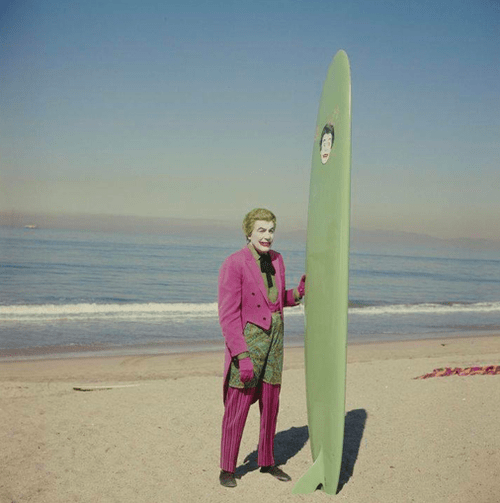 joker superheros surfing wtf