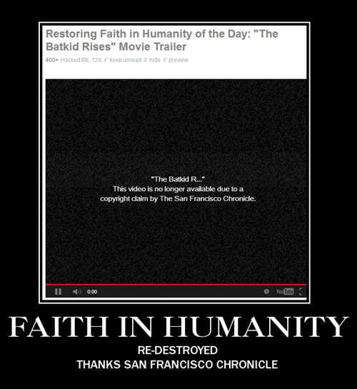 faith in humanity Video youtube batkid