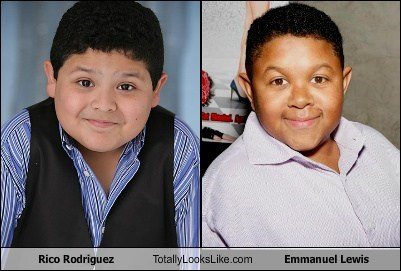 totally looks like,rico rodriguez,emmanuel lewis