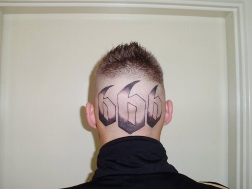 wtf tattoos head tats g rated Ugliest Tattoos
