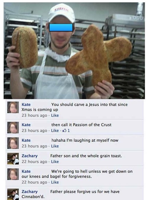 bread christmas puns failbook g rated