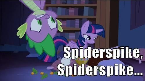 twilight sparkle,Spider-Man,spike