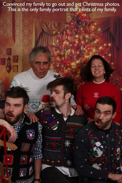family christmas family portraits - 7937832448