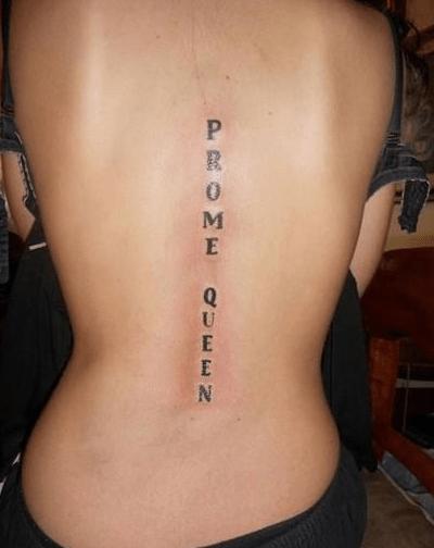 bad wtf text tattoos g rated Ugliest Tattoos - 7937877504