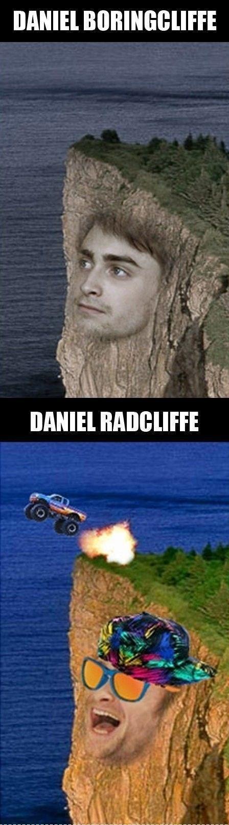Daniel Radcliffe,puns,celeb