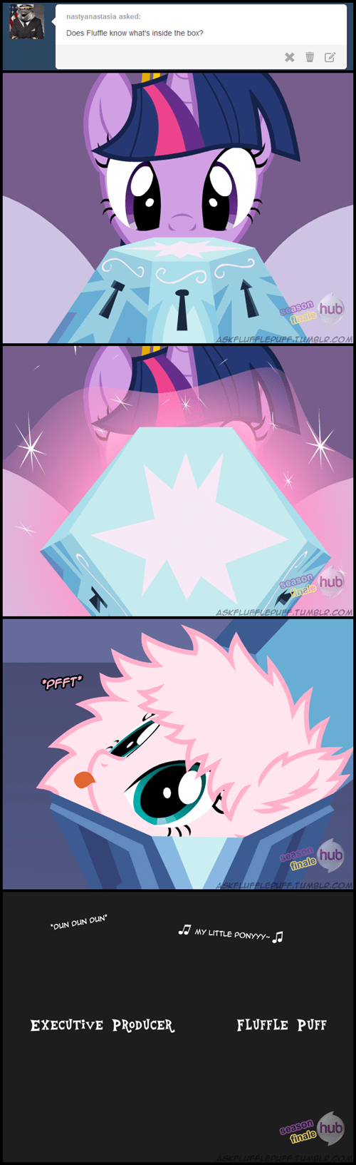 twilight sparkle spoilers the box flufflepuff - 7937953792