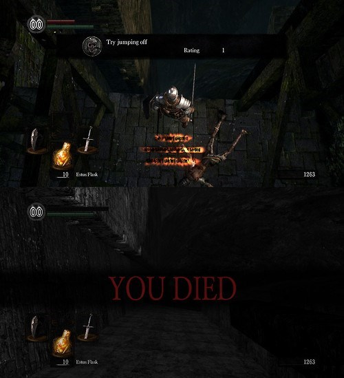 dark souls video games trolling prepare to die - 7938041088