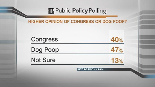 dog poop government Congress poll