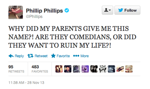 parenting,names,phillip phillips