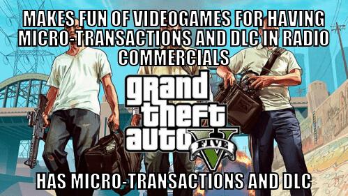Grand Theft Auto video games hypocrites Rockstar Games - 7938048768