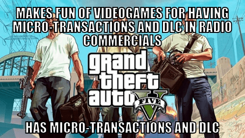 Grand Theft Auto video games hypocrites Rockstar Games - 7938048768