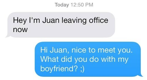 He JUANted to get to know you!