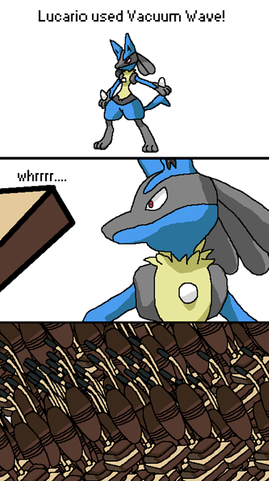 puns Pokémon wordplay web comics vacuum wave - 7938195200