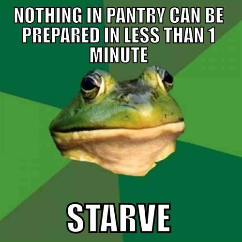 food foul bachelor frog Memes - 7938220288