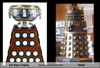 dalek trophy totally looks like
