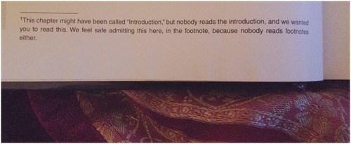 footnotes book funny reasons - 7938523392