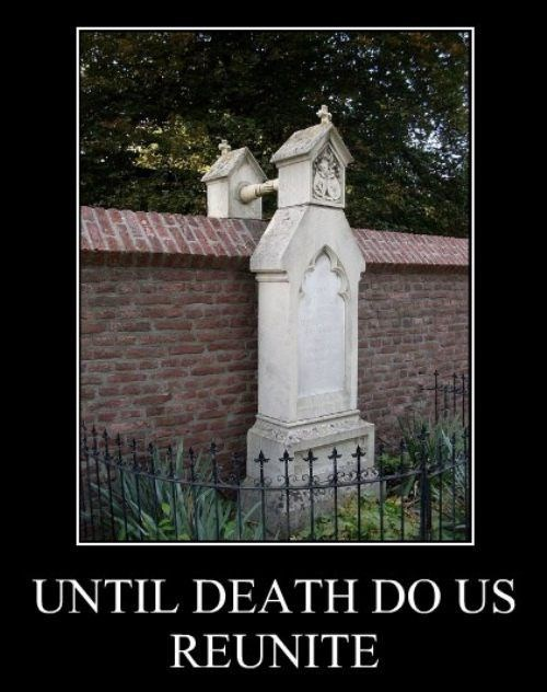 Death,funny,reunite,grave stones