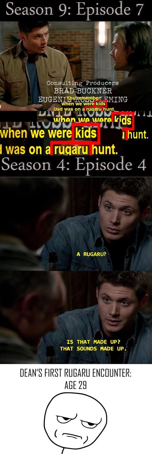 continuity Supernatural fandom problems - 7938734336