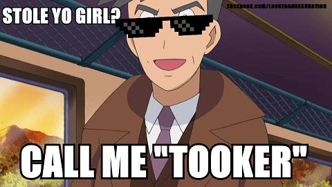 "Cartoon - FleEL.comLaaKERBUREAURATan STOLE YO GIRL? CALL MEWTOOKER"""