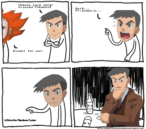 Detective and Lysandre