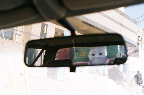 kids,rearview mirror,Thomas and Friends,parenting