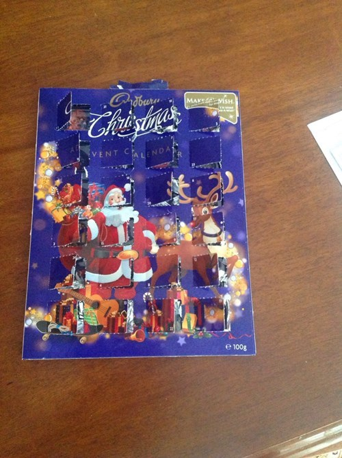 christmas advent calendar kids parenting - 7939303936
