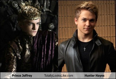 funny totally looks like hunter hayes prince joffrey - 7939375360