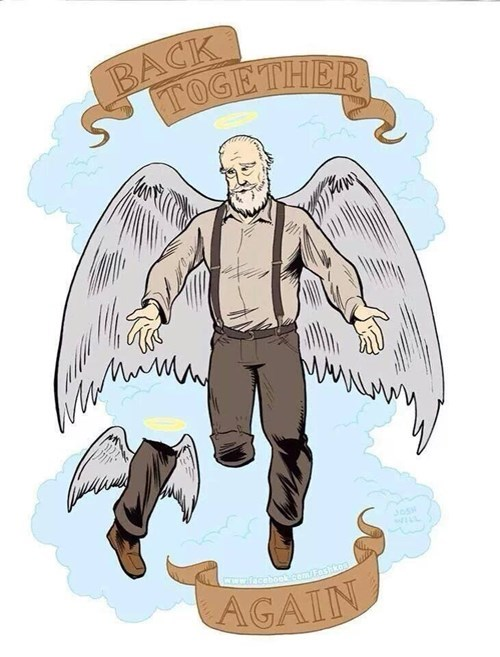 hershel greene,silver lining,everything happens for a reason