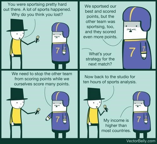 sports sad but true web comics