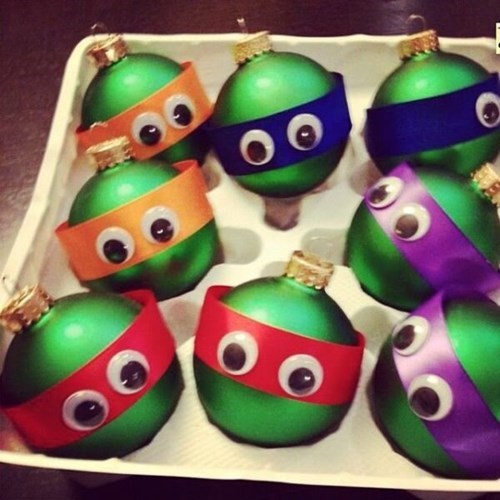 teenage mutant ninja turtles kids ornaments parenting g rated - 7939533568