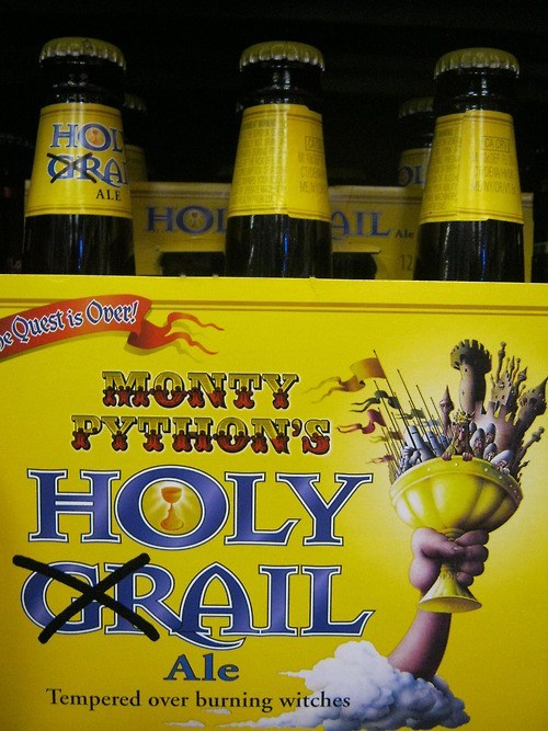 beer monty python holy grail funny - 7939616256