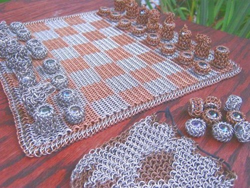 board games chainmail chess nerdgasm