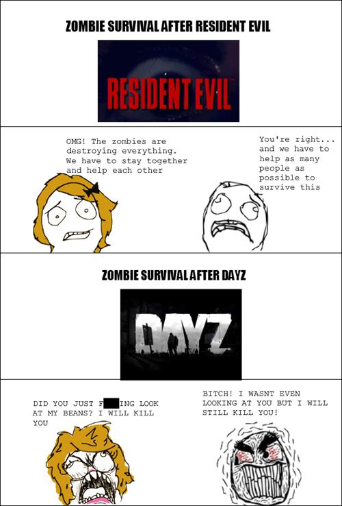 zombie resident evil DayZ - 7939665152