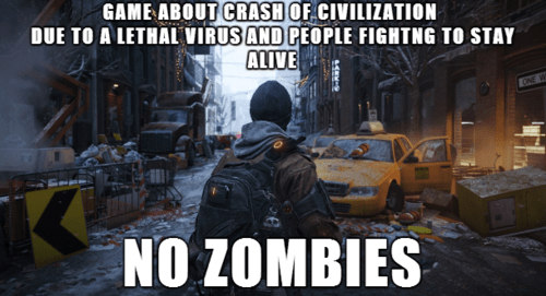 video games,zombie,the division