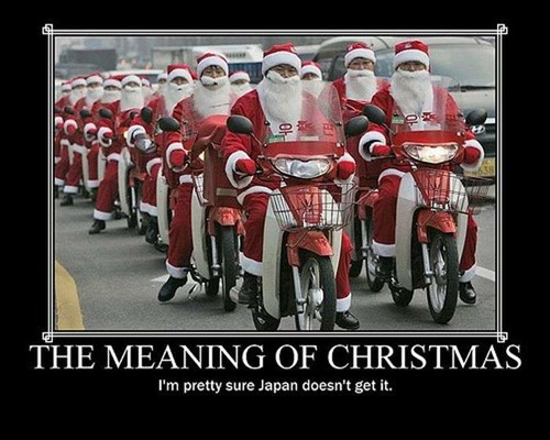 christmas Japan funny santa wtf - 7939715328
