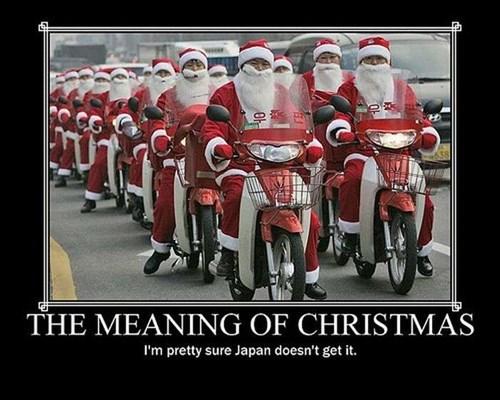 christmas Japan funny santa wtf - 7939715328