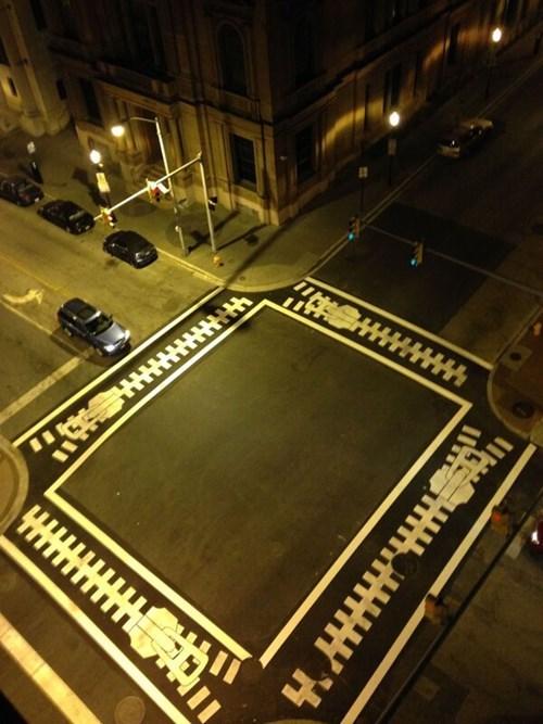 crosswalk streets zippers - 7939767040