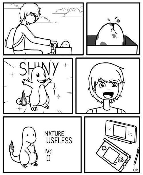 Pokémon,shinies,web comics