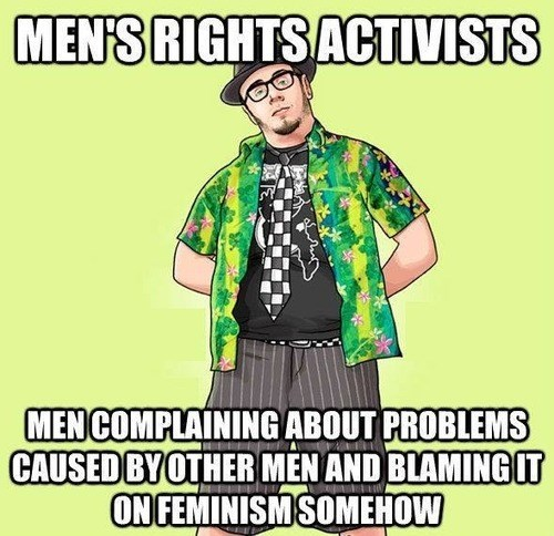 fedoras misandry men's rights jokes lololol - 7939810816