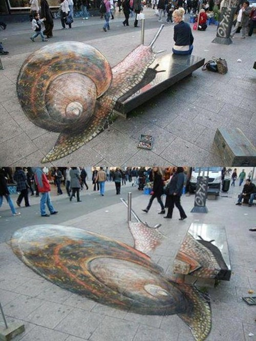 perspective,illusion,Street Art,hacked irl