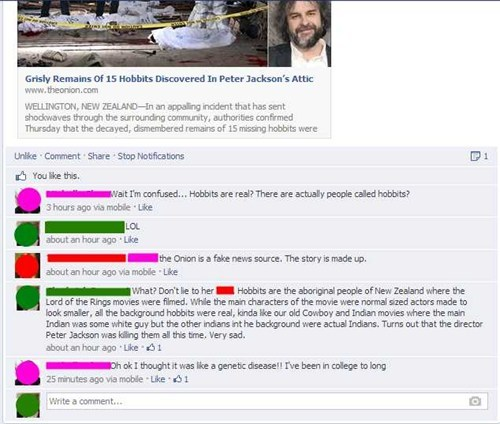 FAIL hobbits the onion failbook g rated - 7939970816
